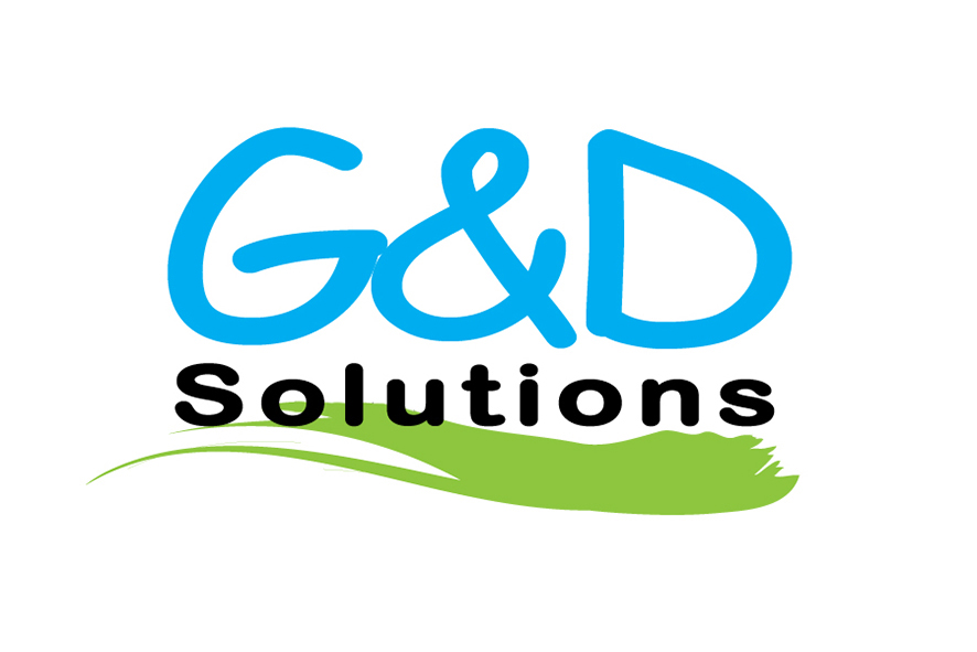Logo G&D Solutions  (achtergrond wit)